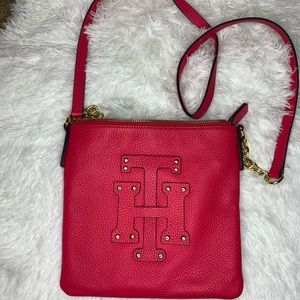 Hot pink Tommy Hilfiger crossbody